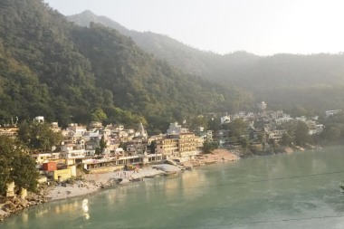 Rishikesh along Ganga River