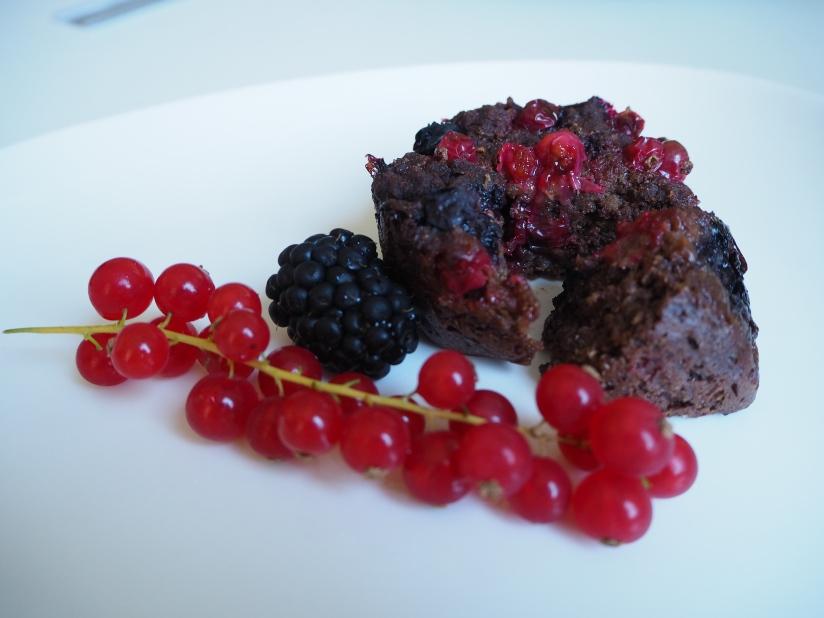 Mini Chocolate Berry QuinoaCakes